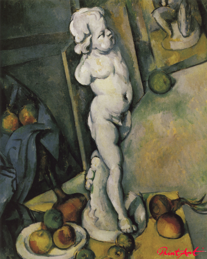 Stilleben mit Putto Cezanne Paul