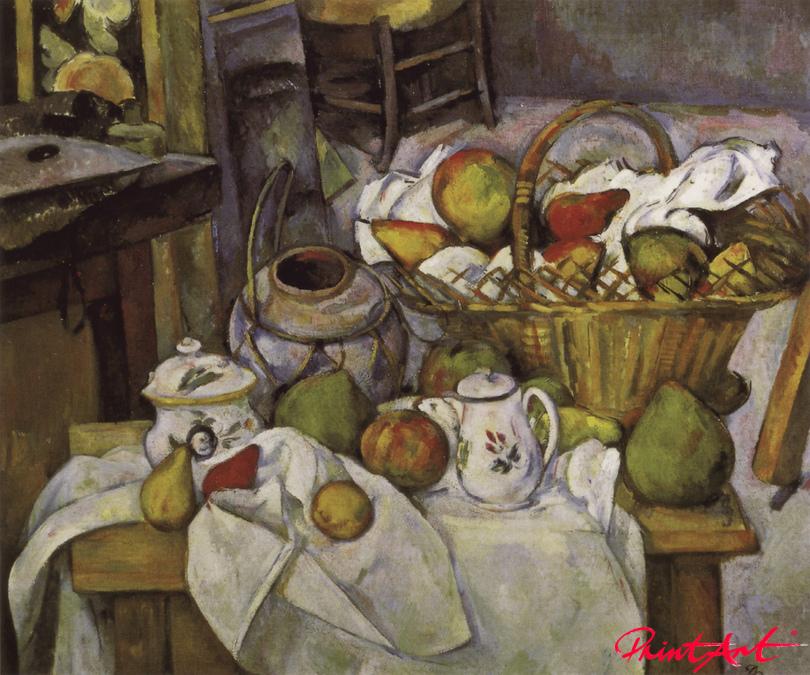 Stilleben mit Früchtekorb Cezanne Paul