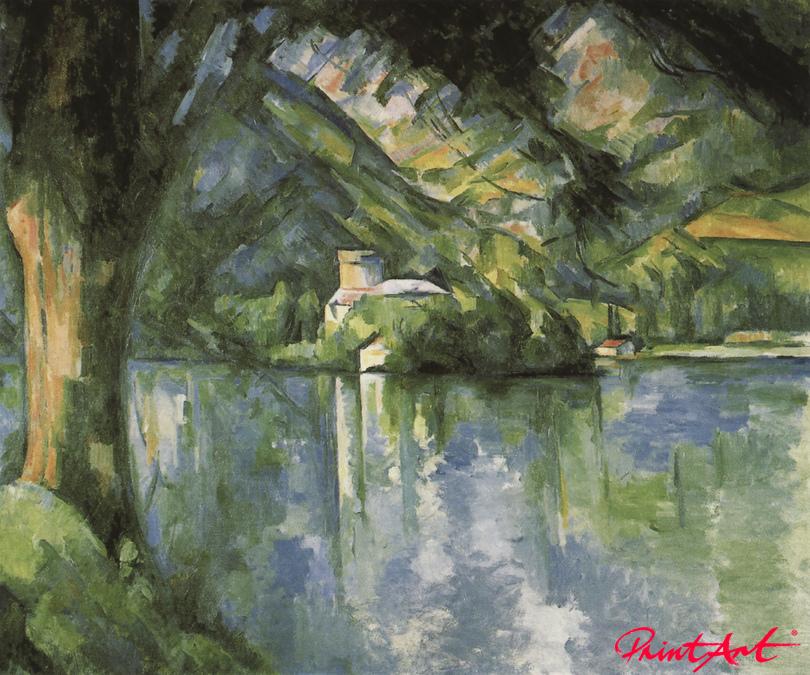 Der See von Annecy Cezanne Paul