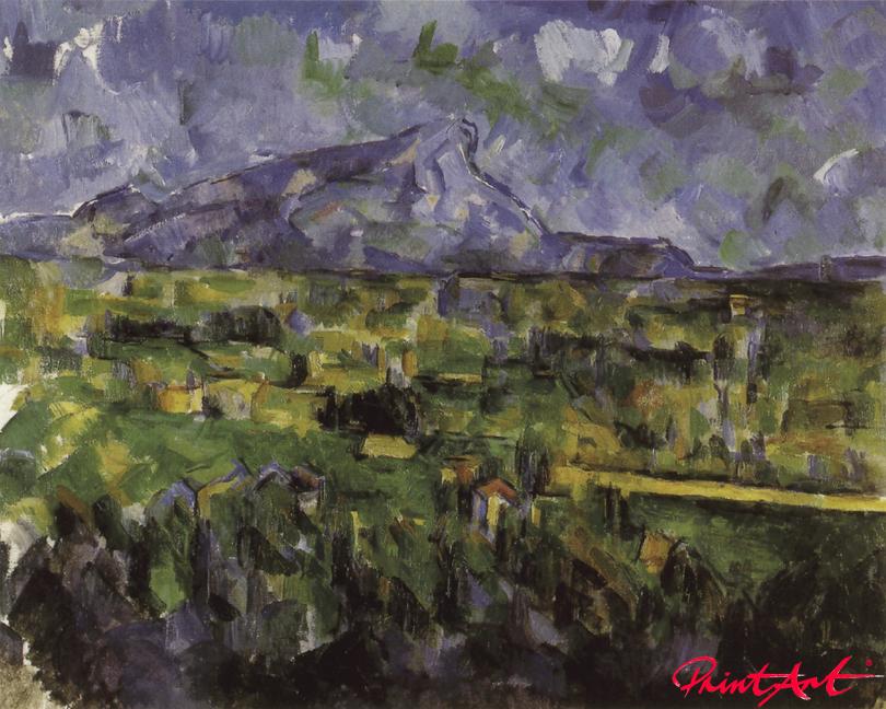 Montagne Sainte-Victoire Cezanne Paul