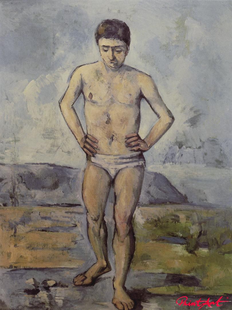 Der grosse Badende Cezanne Paul