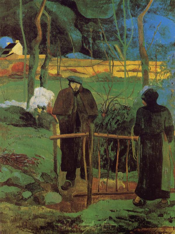 Bonjour, Monsieur Gaugin Gauguin Paul