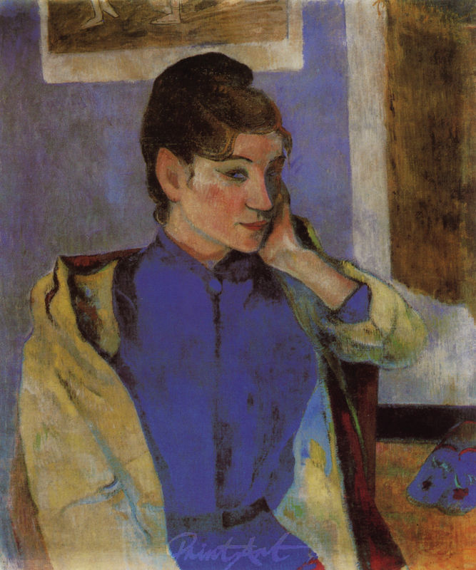 Bildnis Madeleine Bernard Gauguin Paul
