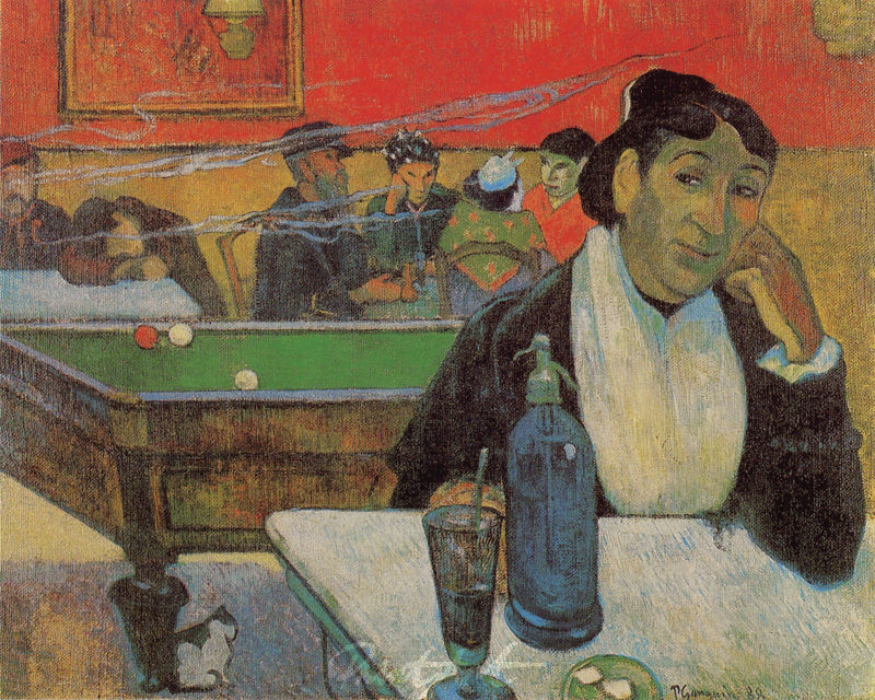 Nachtcafé in Arles Gauguin Paul