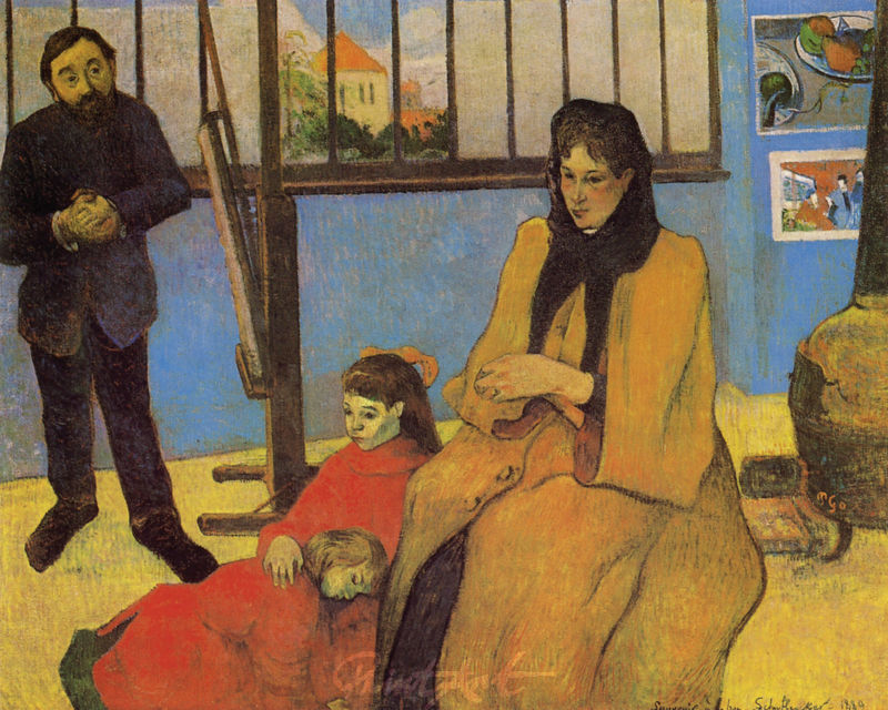 Familie Schuffenecker Gauguin Paul