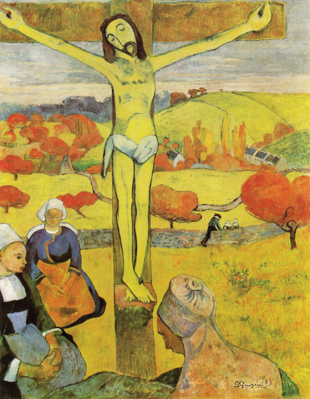 Der gelbe Christus Gauguin Paul