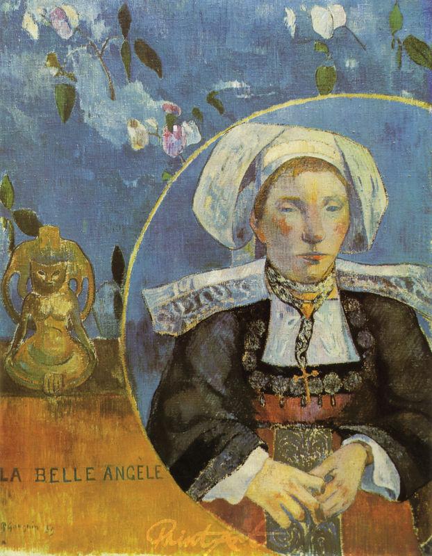 Angèle Sartre oder Die schöne Angèle Gauguin Paul