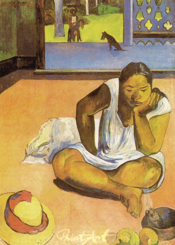 Die Verdrossene Gauguin Paul