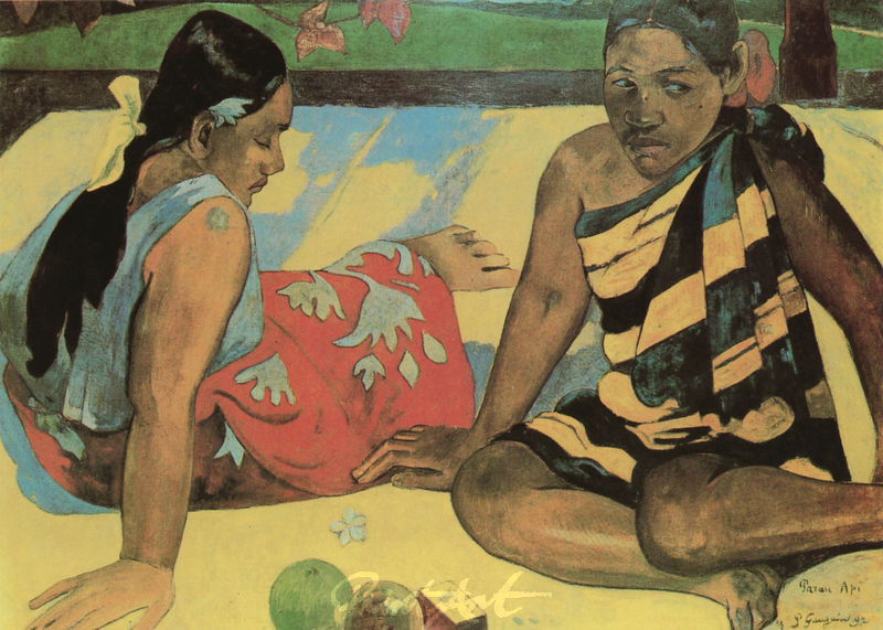 Was gibt's Neues? Gauguin Paul