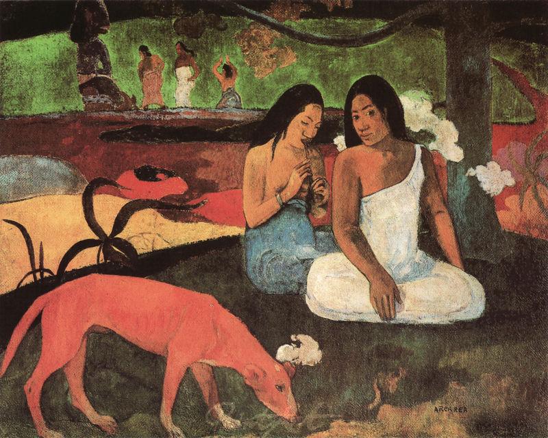 Zeitvertrieb Gauguin Paul