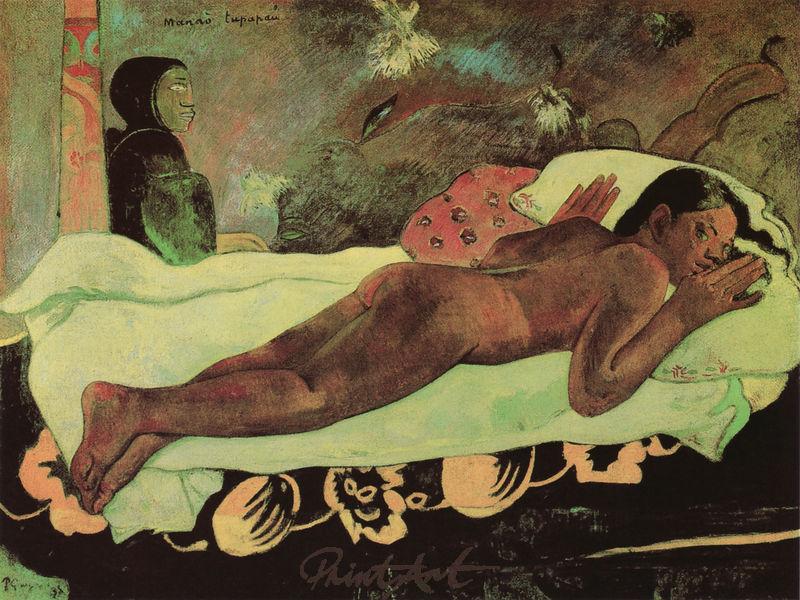 Der Geist der Toten wacht Gauguin Paul