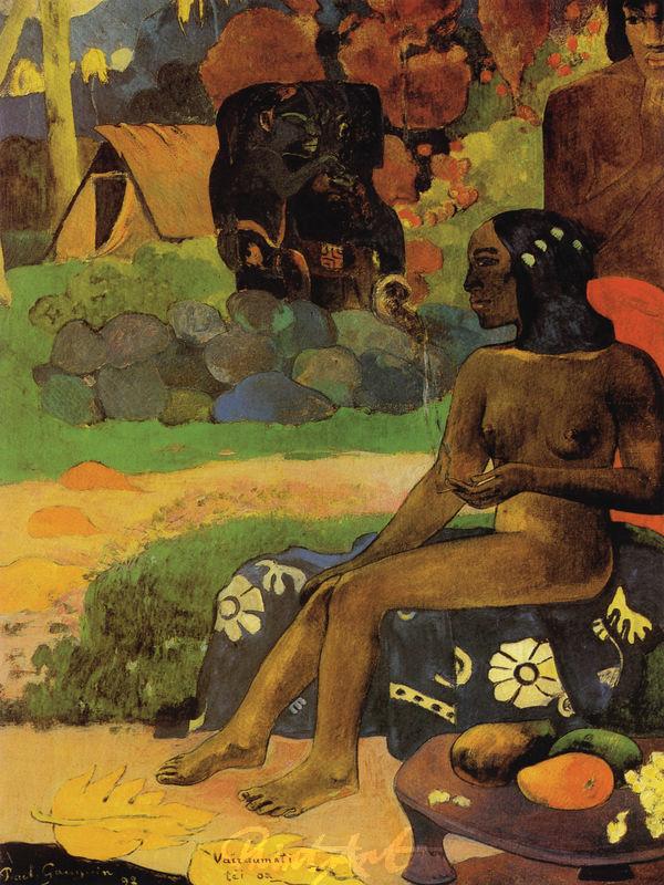 Ihr Name ist Vairaumati Gauguin Paul