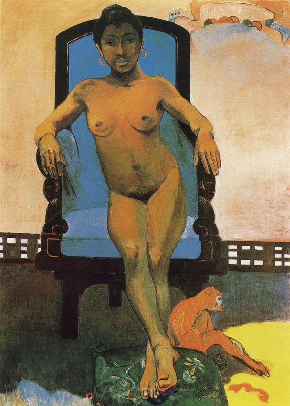 Annah, die Javanerin Gauguin Paul