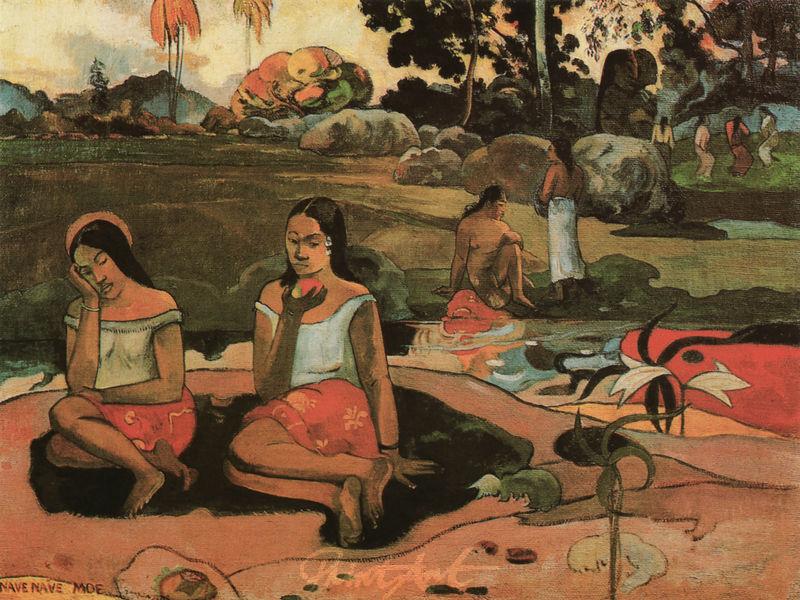 Zärtliche Träumerei Gauguin Paul