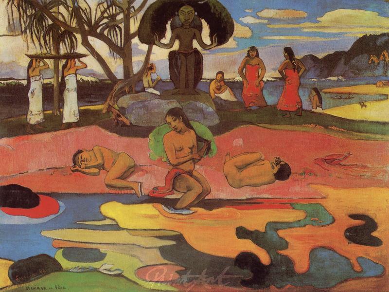 Der Tag der Götter Gauguin Paul