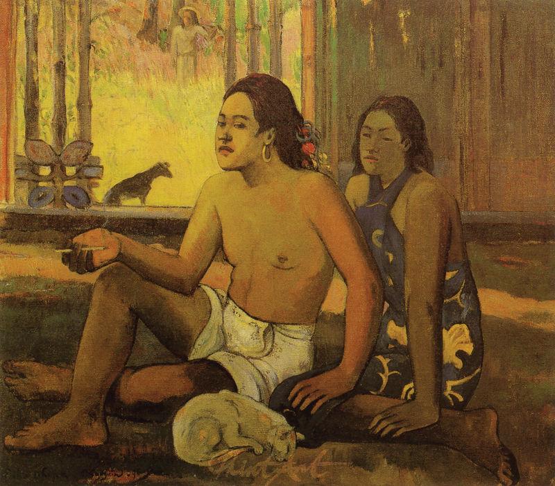 Nicht arbeiten Gauguin Paul