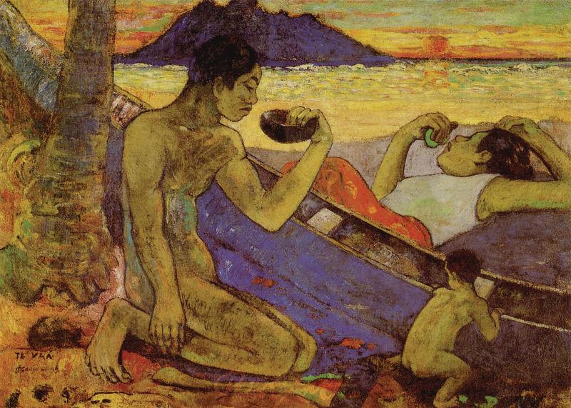 Der Einbaum Gauguin Paul
