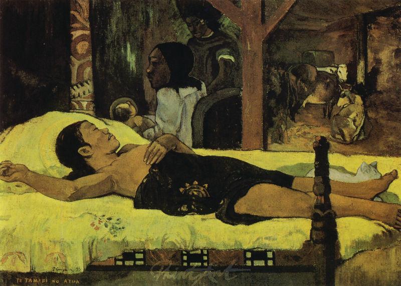 Die Geburt Christi Gauguin Paul