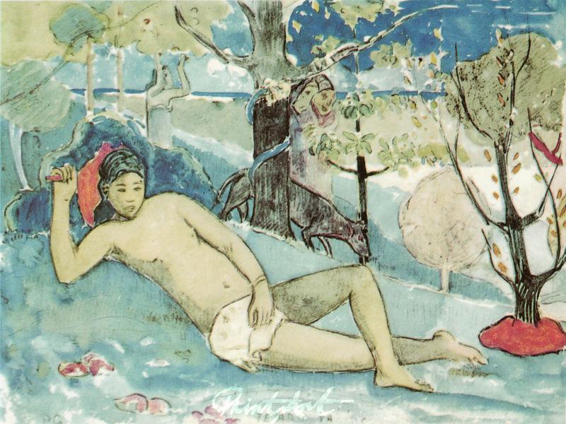 Die Königin der Schönheit Gauguin Paul