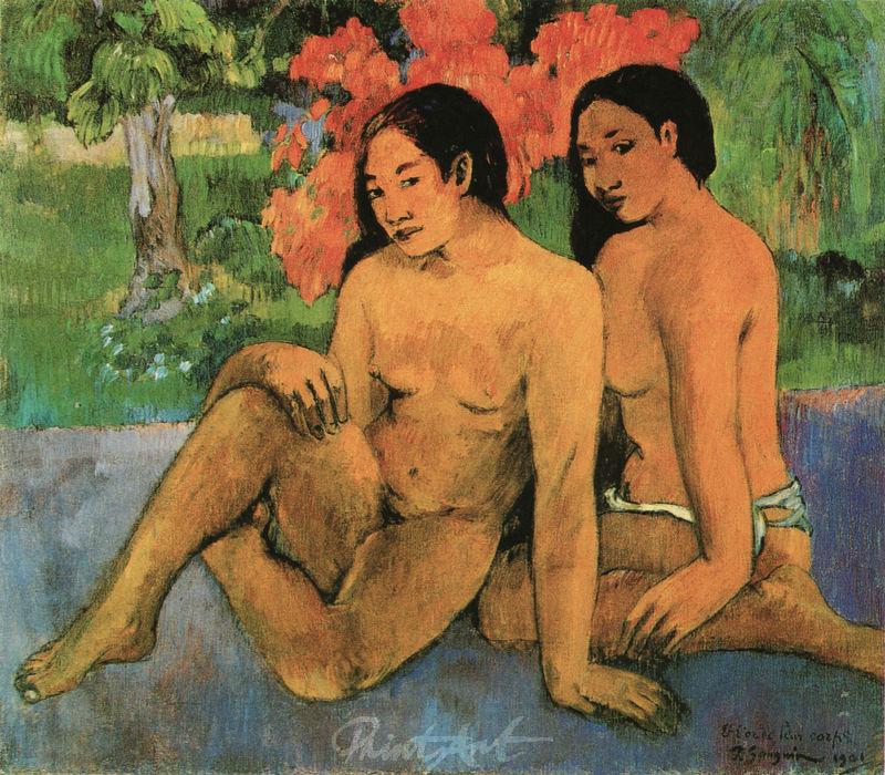 Und das Gold ihrer Körper Gauguin Paul