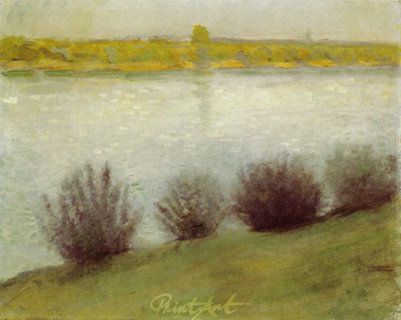 Am Rhein bei Hersel Macke August