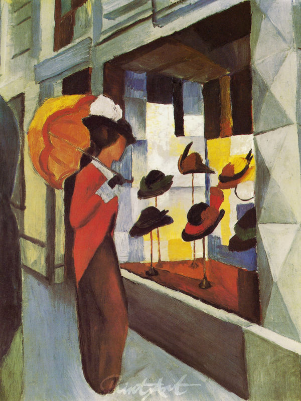 Hutladen Macke August