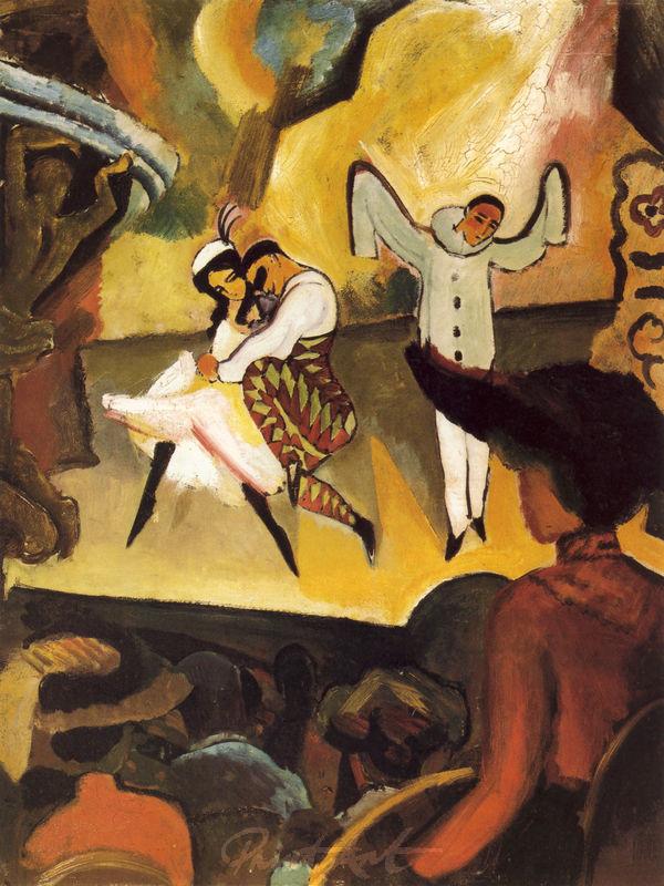 Russisches Ballett Macke August