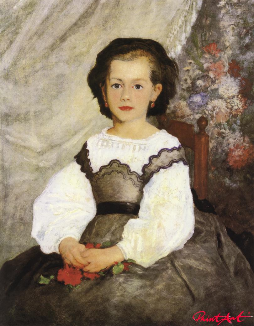 Fräulein Romaine Lacaux Renoir Pierre Auguste