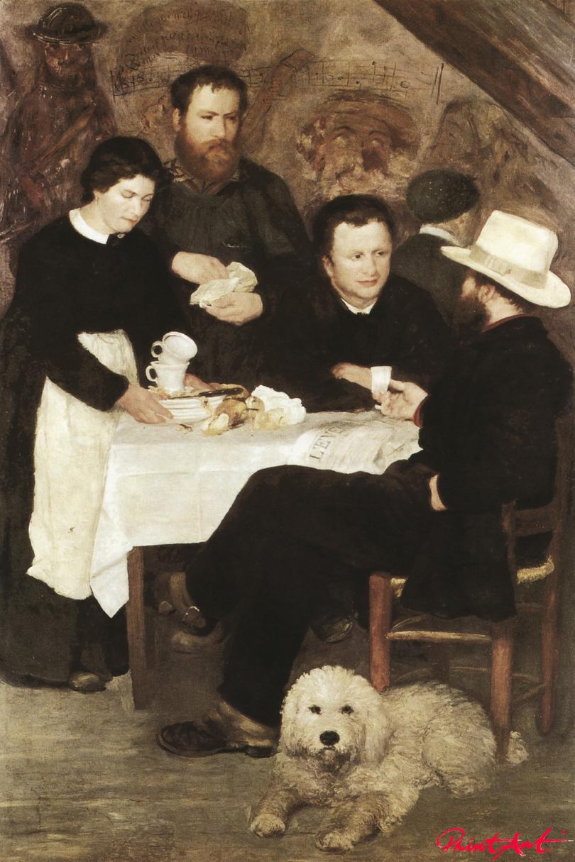 """Das Gasthaus von """"Mère"""" Anthony Renoir Pierre Auguste"""
