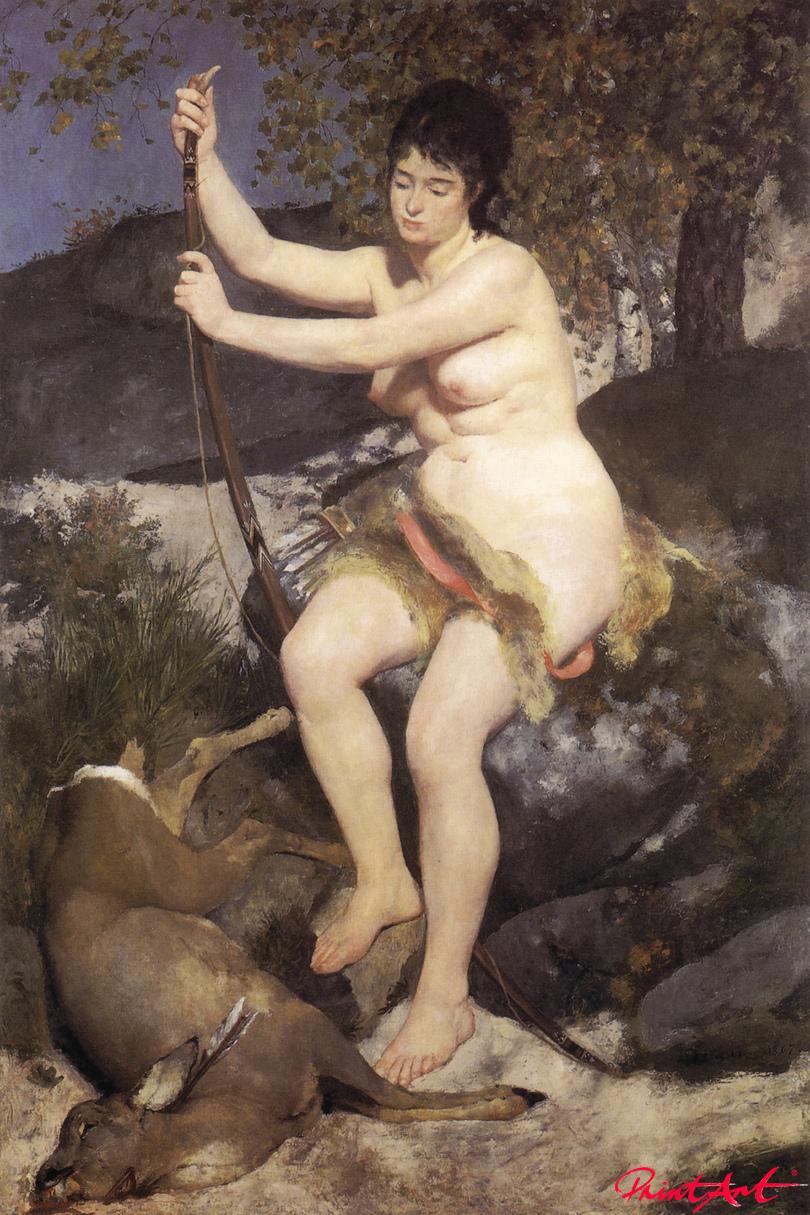 Diana als Jägerin Renoir Pierre Auguste