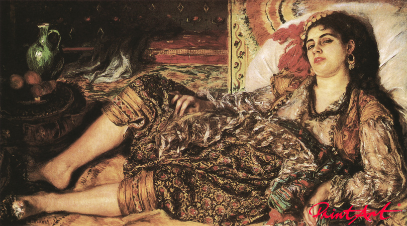 Odaliske (Frau aus Algier) Renoir Pierre Auguste
