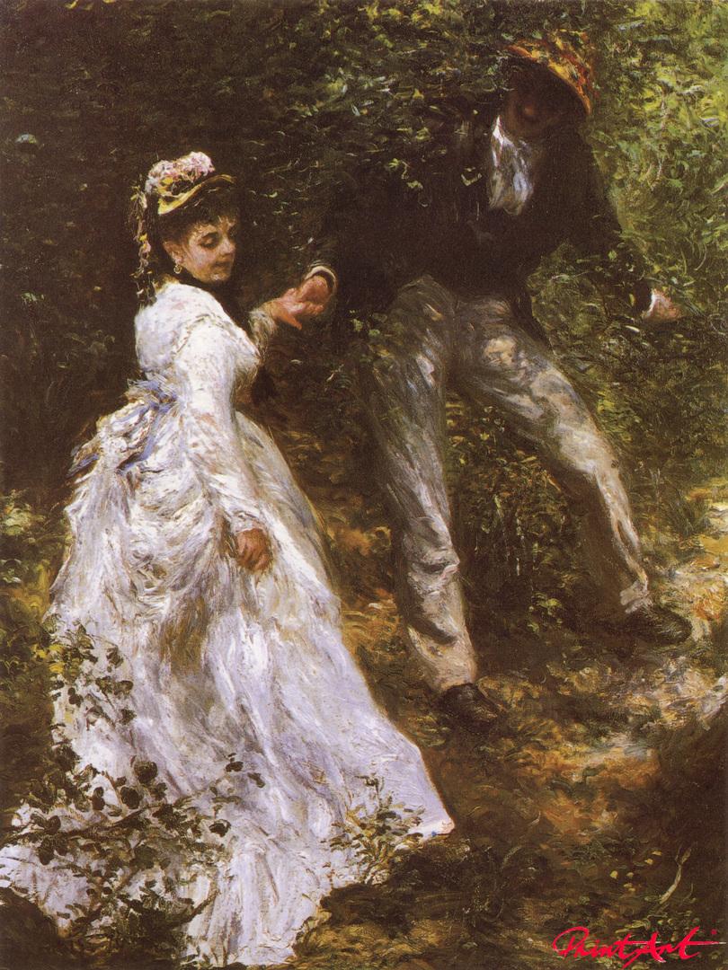 Der Spaziergang Renoir Pierre Auguste