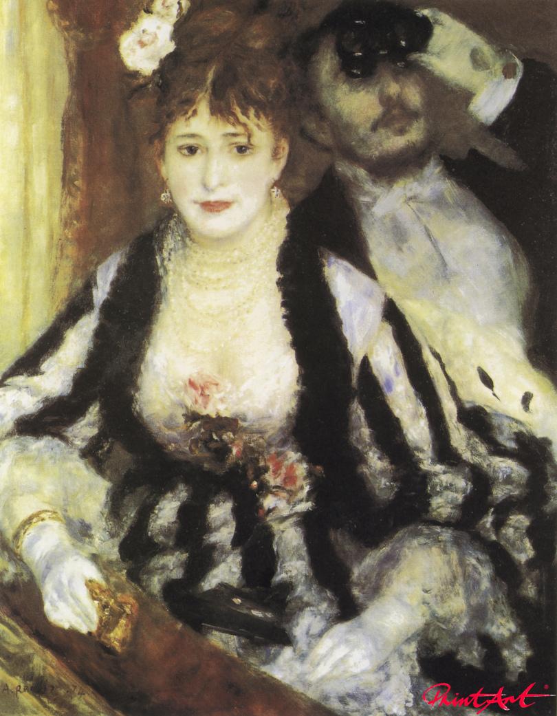 Die Loge Renoir Pierre Auguste