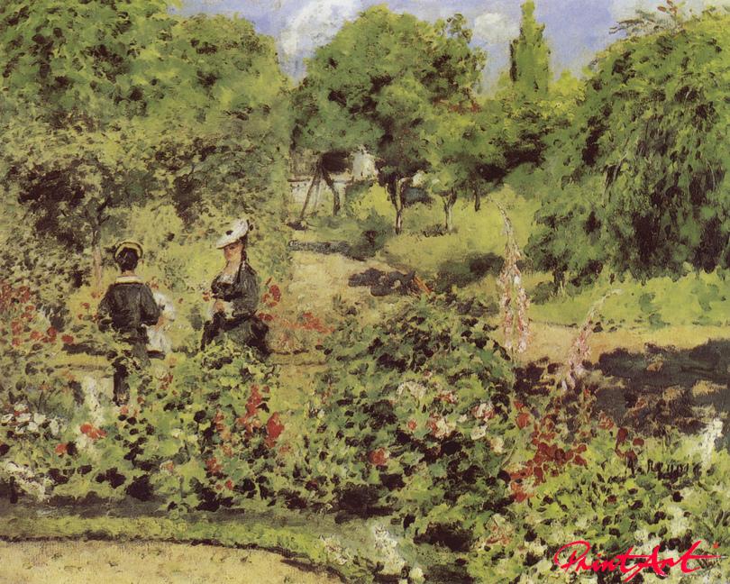 Garten in Fontenay Renoir Pierre Auguste