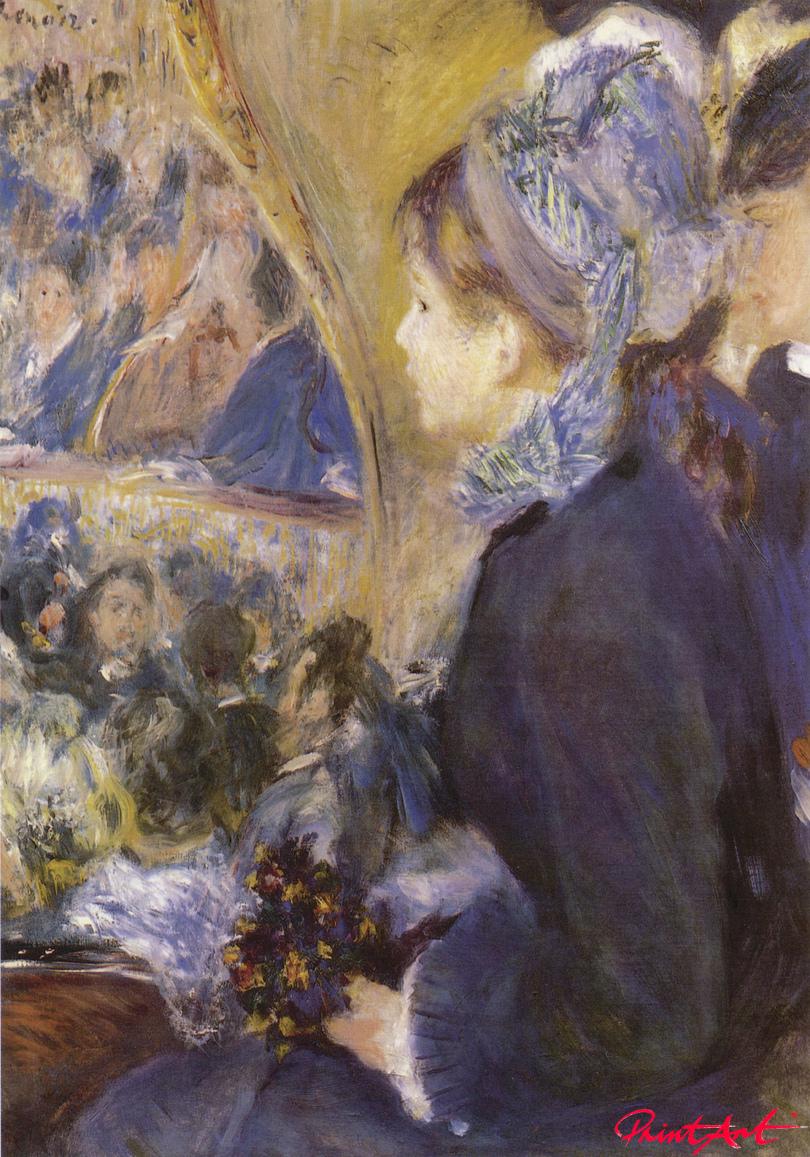 Der erste Ausgang Renoir Pierre Auguste
