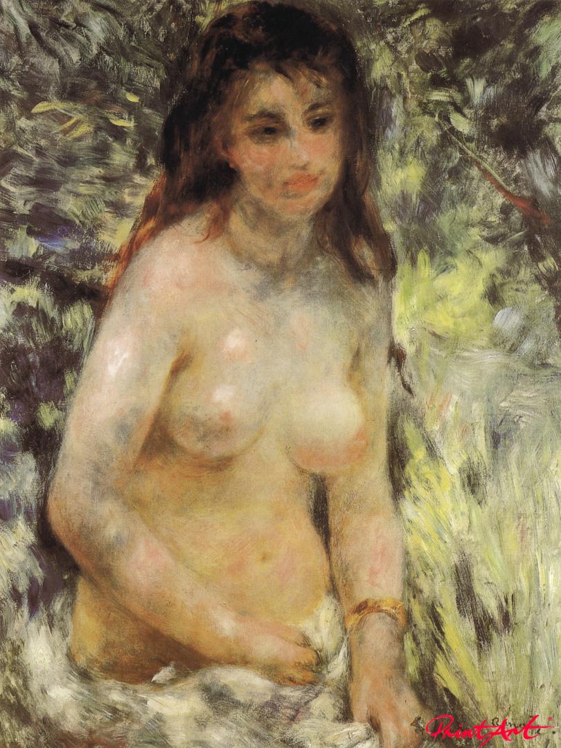 Weiblicher Akt im Sonnenlicht Renoir Pierre Auguste