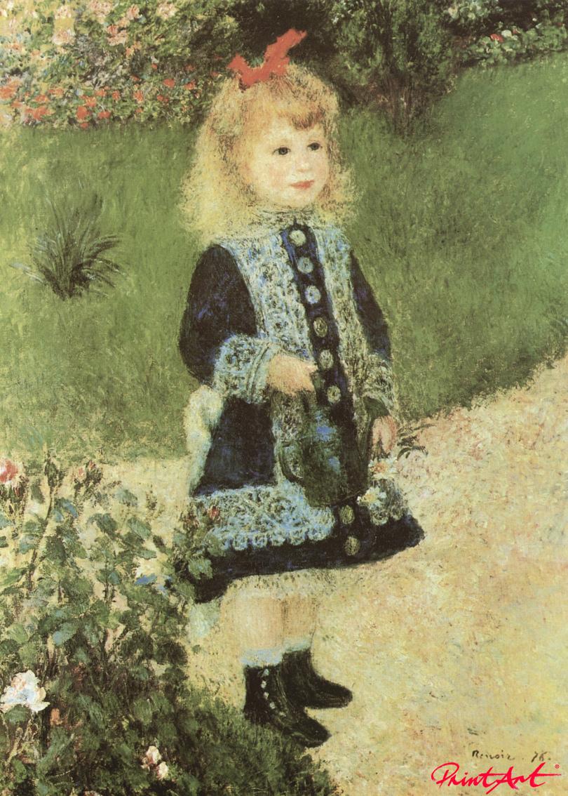 Mädchen mit Giesskanne Renoir Pierre Auguste