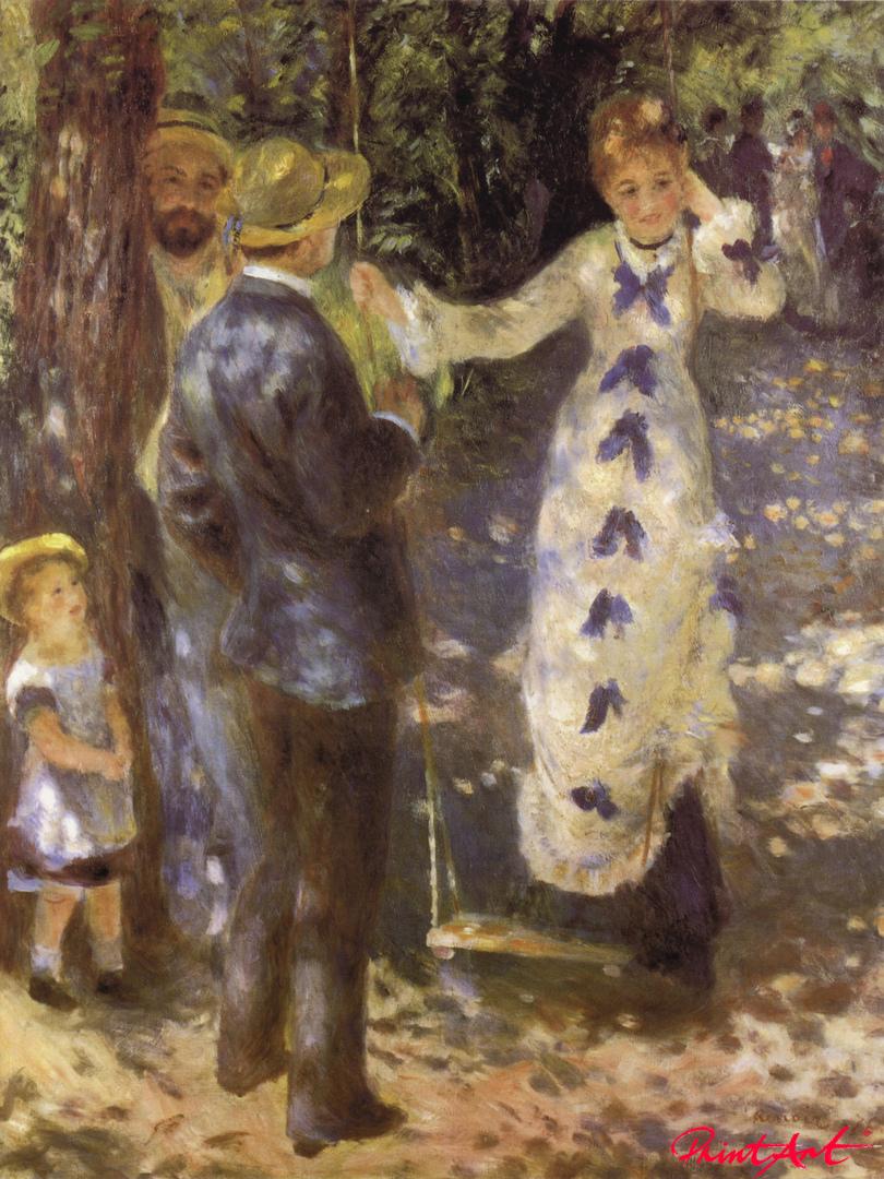 Die Schaukel Renoir Pierre Auguste