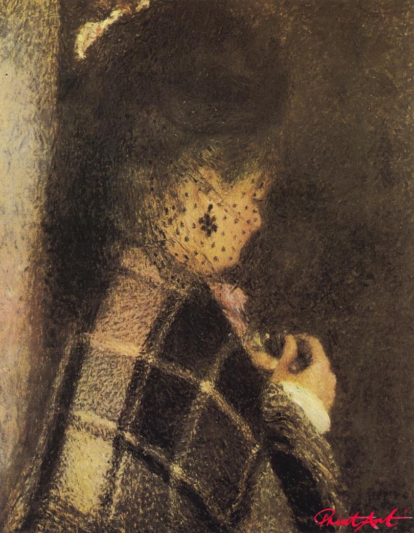Die Frau mit dem Schleier Renoir Pierre Auguste