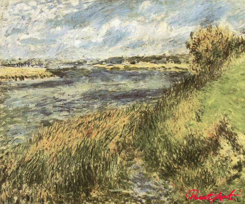Die Seine bei Champrosay Renoir Pierre Auguste