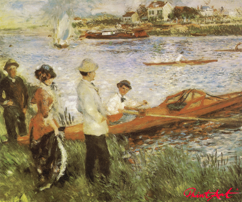 Ruderer in Chatou Renoir Pierre Auguste