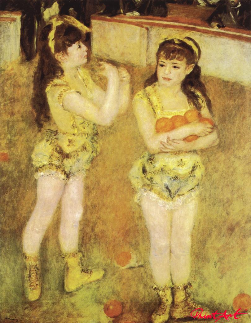 Im Zirkus Fernando Renoir Pierre Auguste