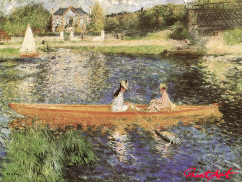Die Seine bei Asnières Renoir Pierre Auguste