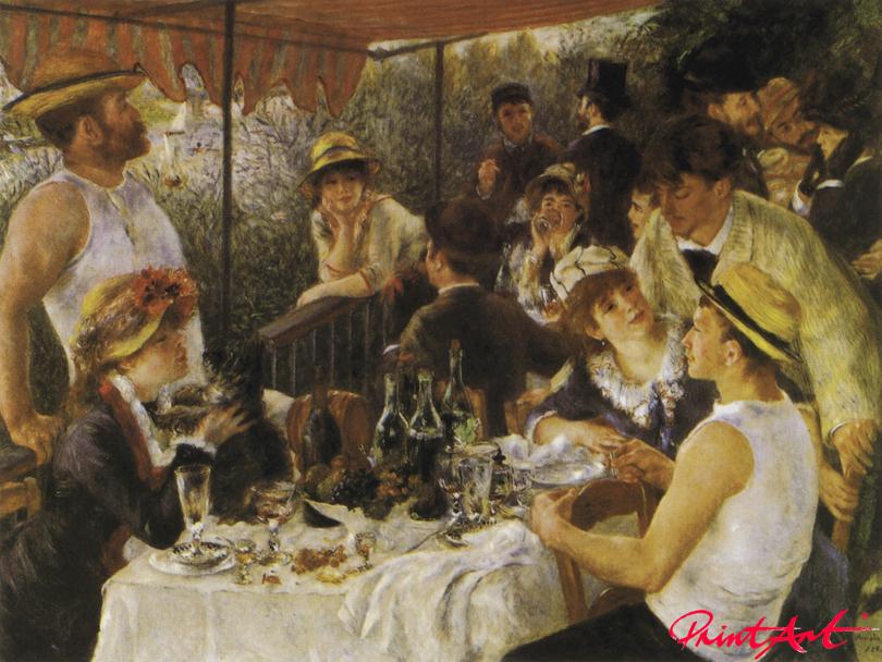 Das Frühstück der Ruderer Renoir Pierre Auguste