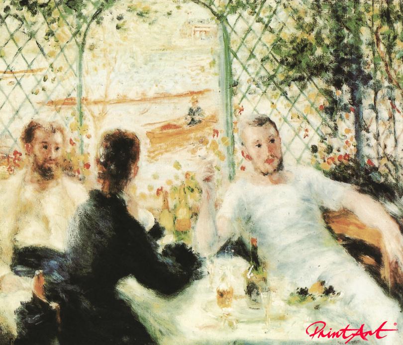 Frühstück am Flussufer Renoir Pierre Auguste