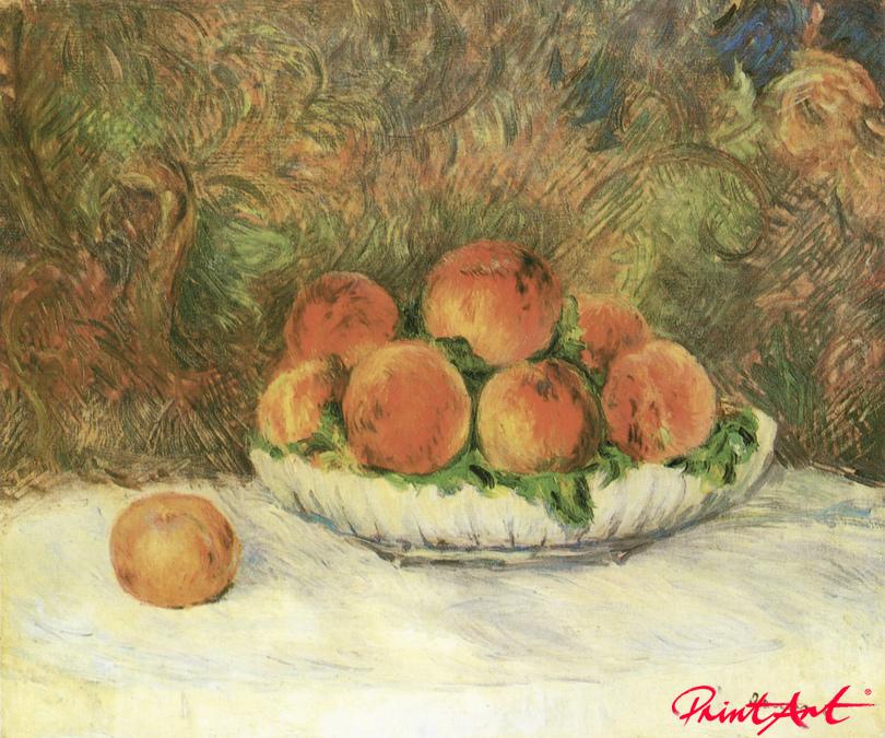 Stilleben mit Pfirsichen Renoir Pierre Auguste
