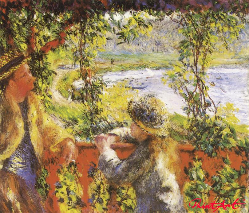 Am See Renoir Pierre Auguste