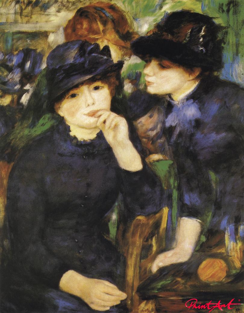 Zwei Mädchen Renoir Pierre Auguste