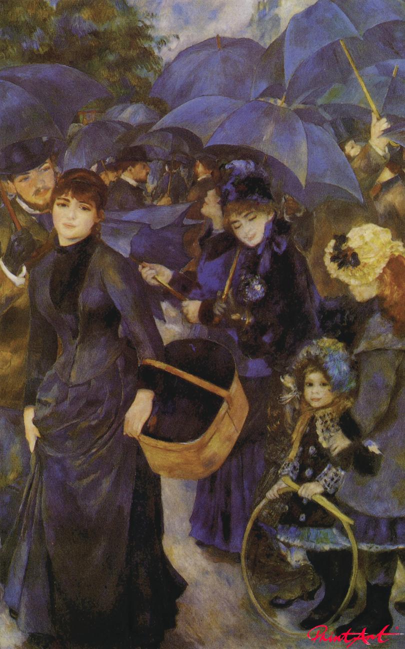 Die Regenschirme Renoir Pierre Auguste