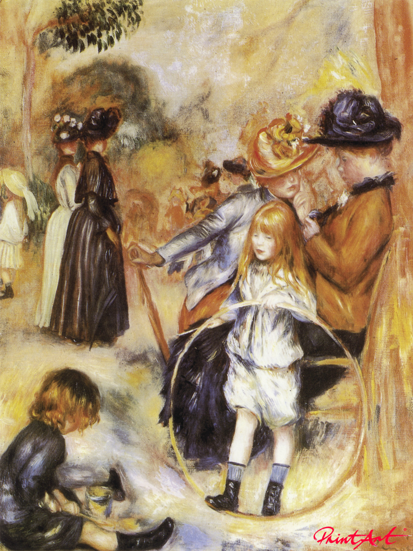 Im Park des Jardin du Luxembourg Renoir Pierre Auguste